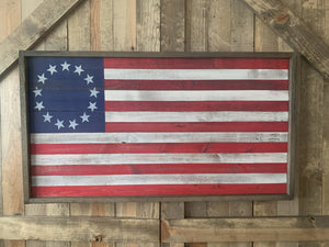 Betsy Ross Large Flag