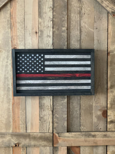 Thin Red Line Extra Small Flag