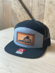 J Tred Gray & Black Flat Bill Hat