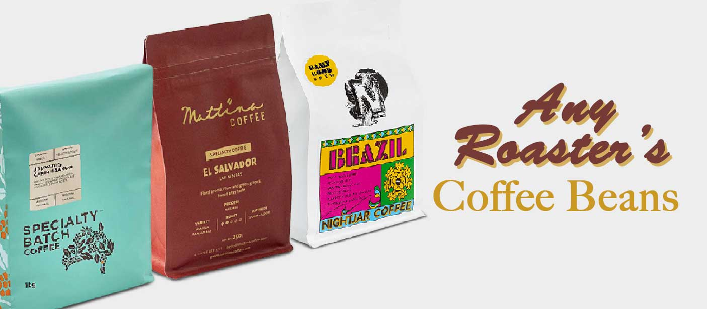 Specialty coffee beans from all roasters in the UAE. Fresh coffee beans.