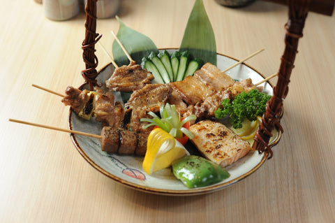 Robatayaki Skewered Grilled Dishes