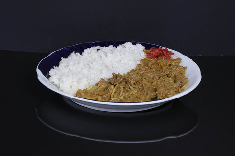 Beef Curry w/ Japanese Rice