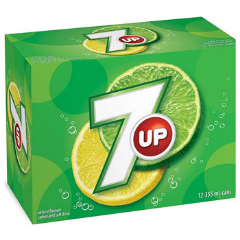 SEVEN UP 12 CAN. 355 ML
