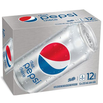 PEPSI DIÈTE 12 CAN. 355 ML