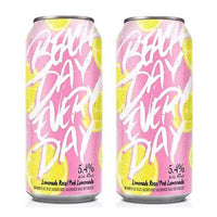 DEUX BEACH DAY EVERY DAY LIMONADES ROSES  473 ML.     **18 ans et +