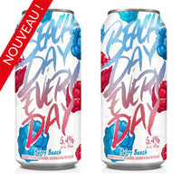 DEUX BEACH DAY EVERY DAY BERRY  473 ML.     **18 ans et +
