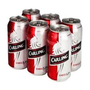 CARLING DRY 6 CAN.   **18 ans et +