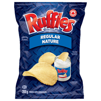 CHIPS RUFFLES NATURE 200G