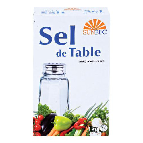 SEL DE TABLE 1KG