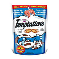 TEMPTATIONS SAUMON 85 G.