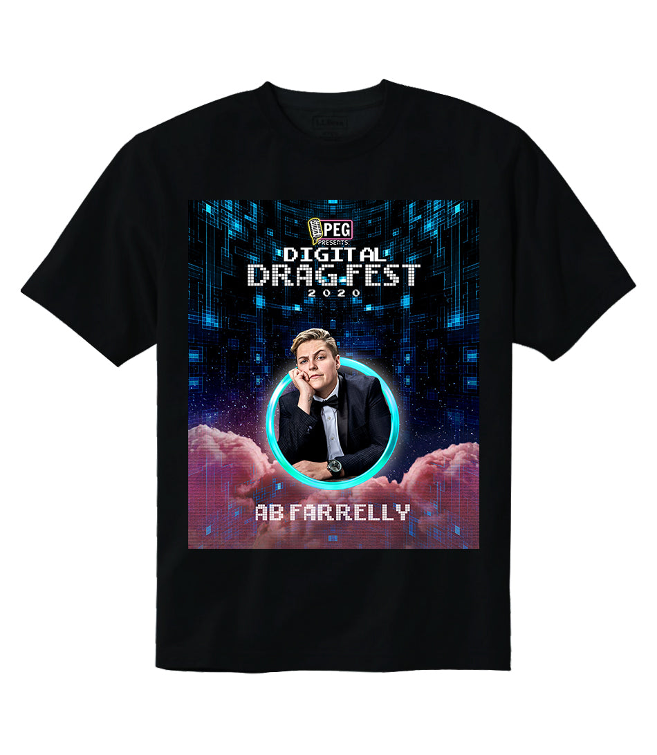 AB Farrelly- Digital Drag Fest 2020 T-shirt
