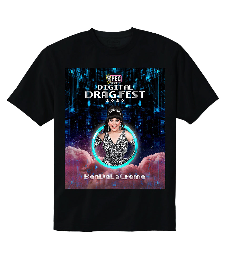 BenDeLaCreme- Digital Drag Fest 2020 T-shirt