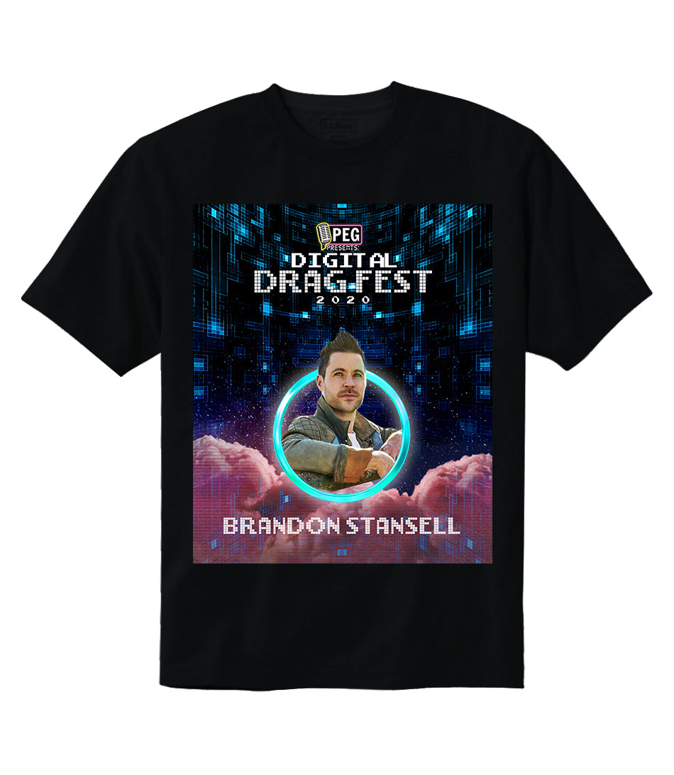 Brandon Stansell- Digital Drag Fest 2020 T-shirt