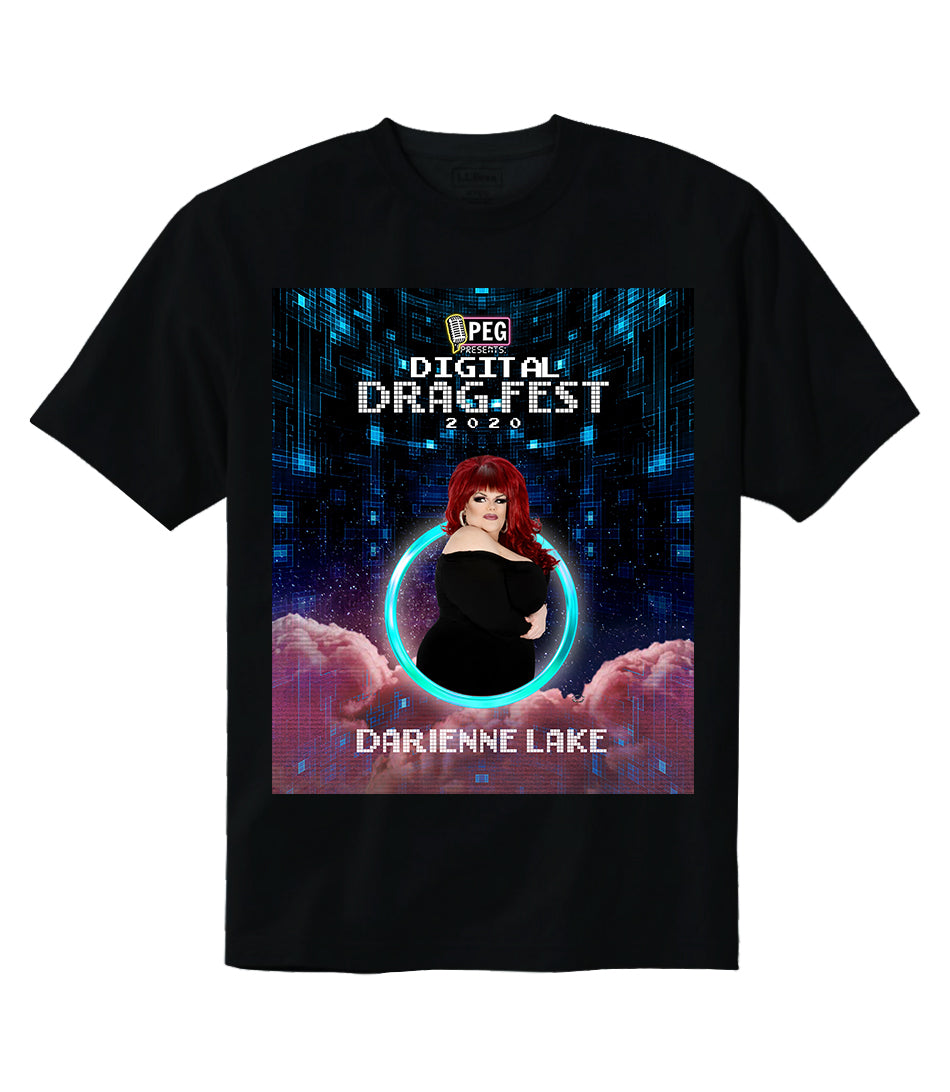 Darienne Lake- Digital Drag Fest 2020 T-shirt