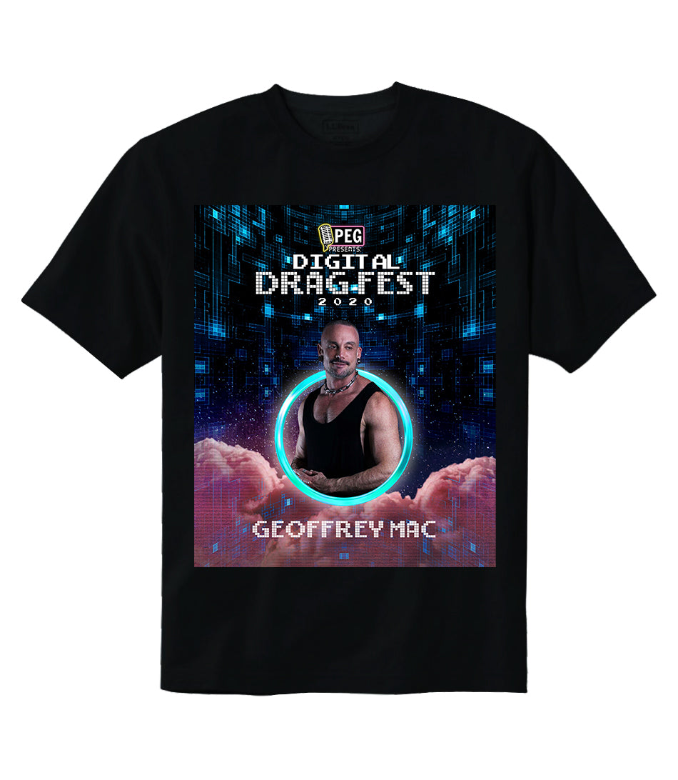 Geoffrey Mac- Digital Drag Fest 2020 T-shirt