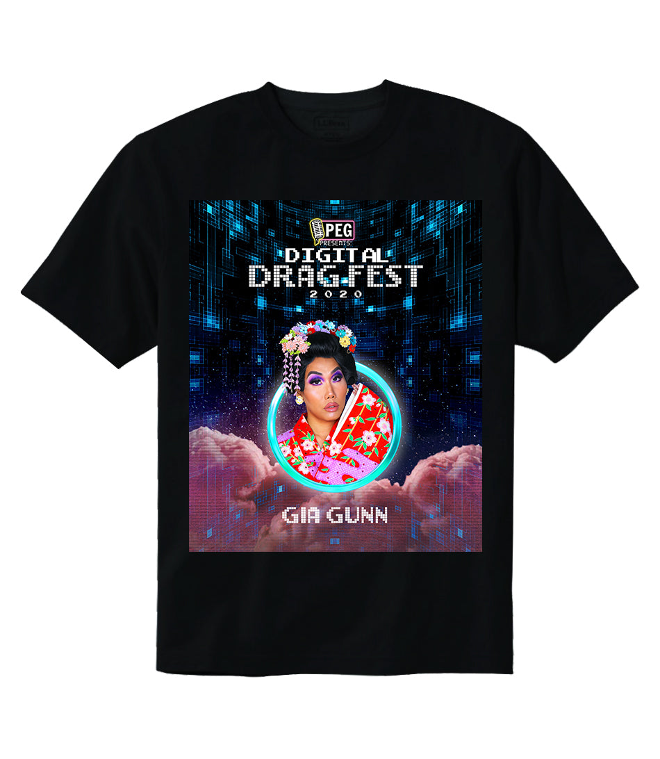 Gia Gunn- Digital Drag Fest 2020 T-shirt