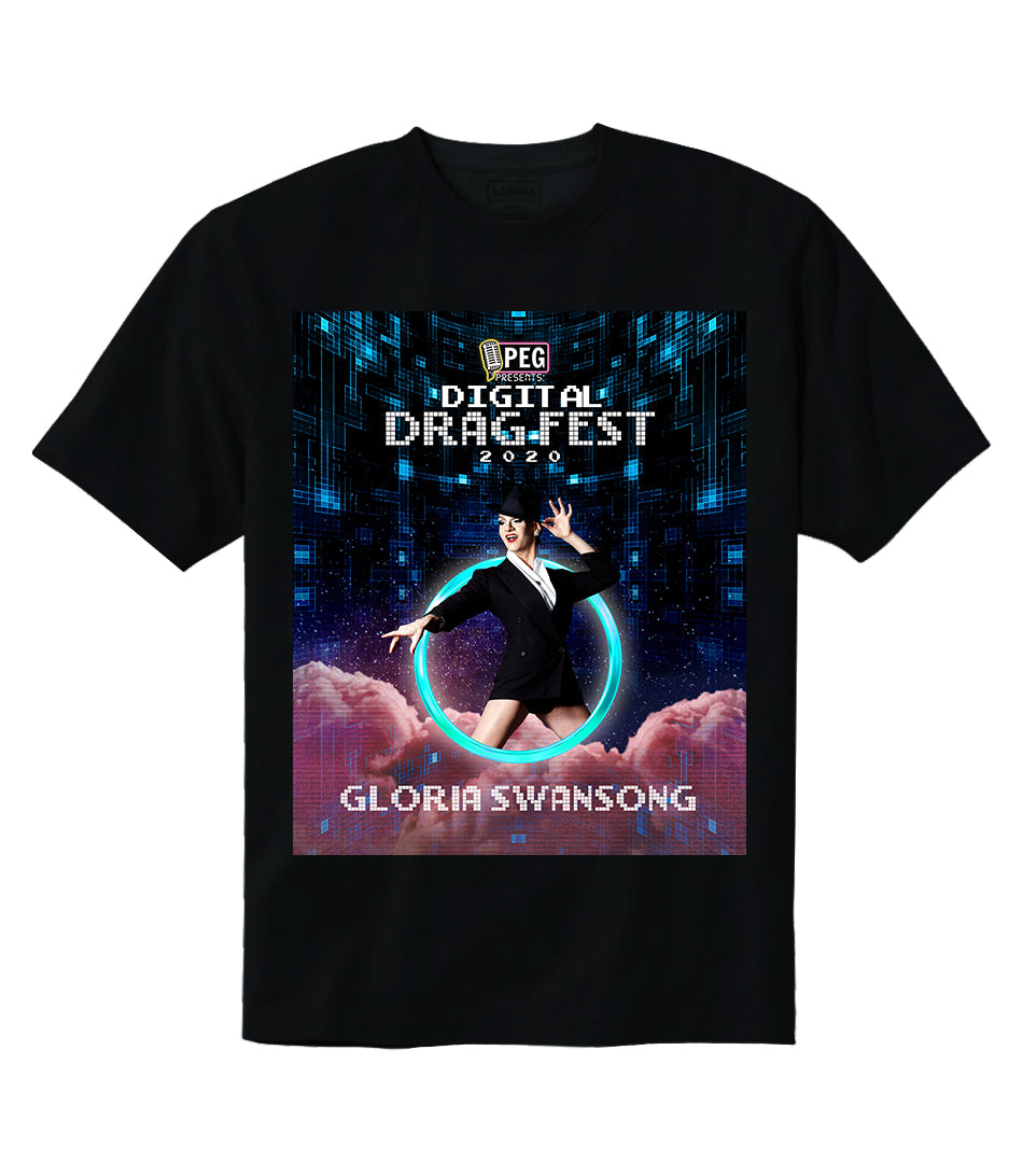 Gloria Swansong- Digital Drag Fest 2020 T-shirt