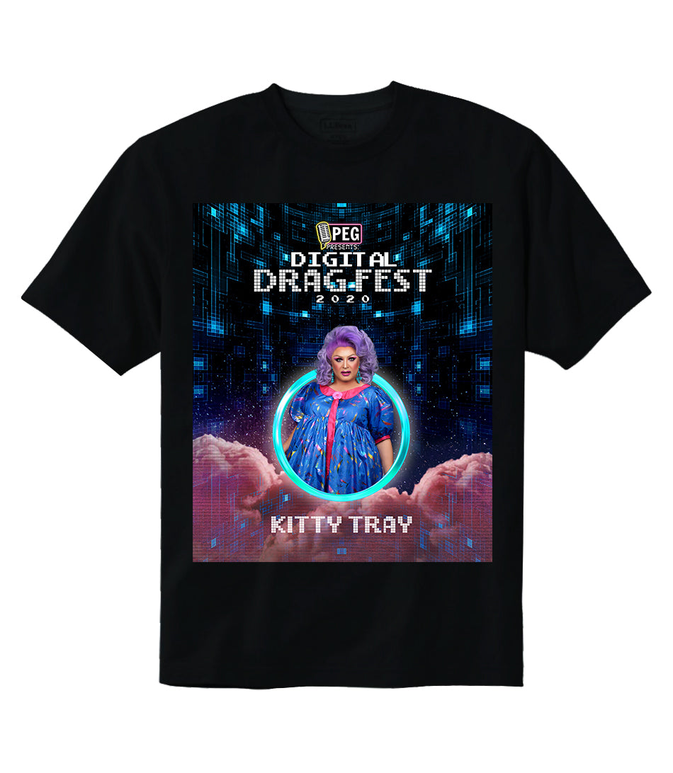 Kitty Tray- Digital Drag Fest 2020 T-shirt