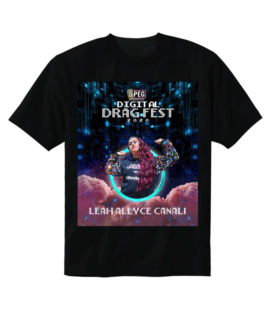 Leah Canali- Digital Drag Fest 2020 T-shirt