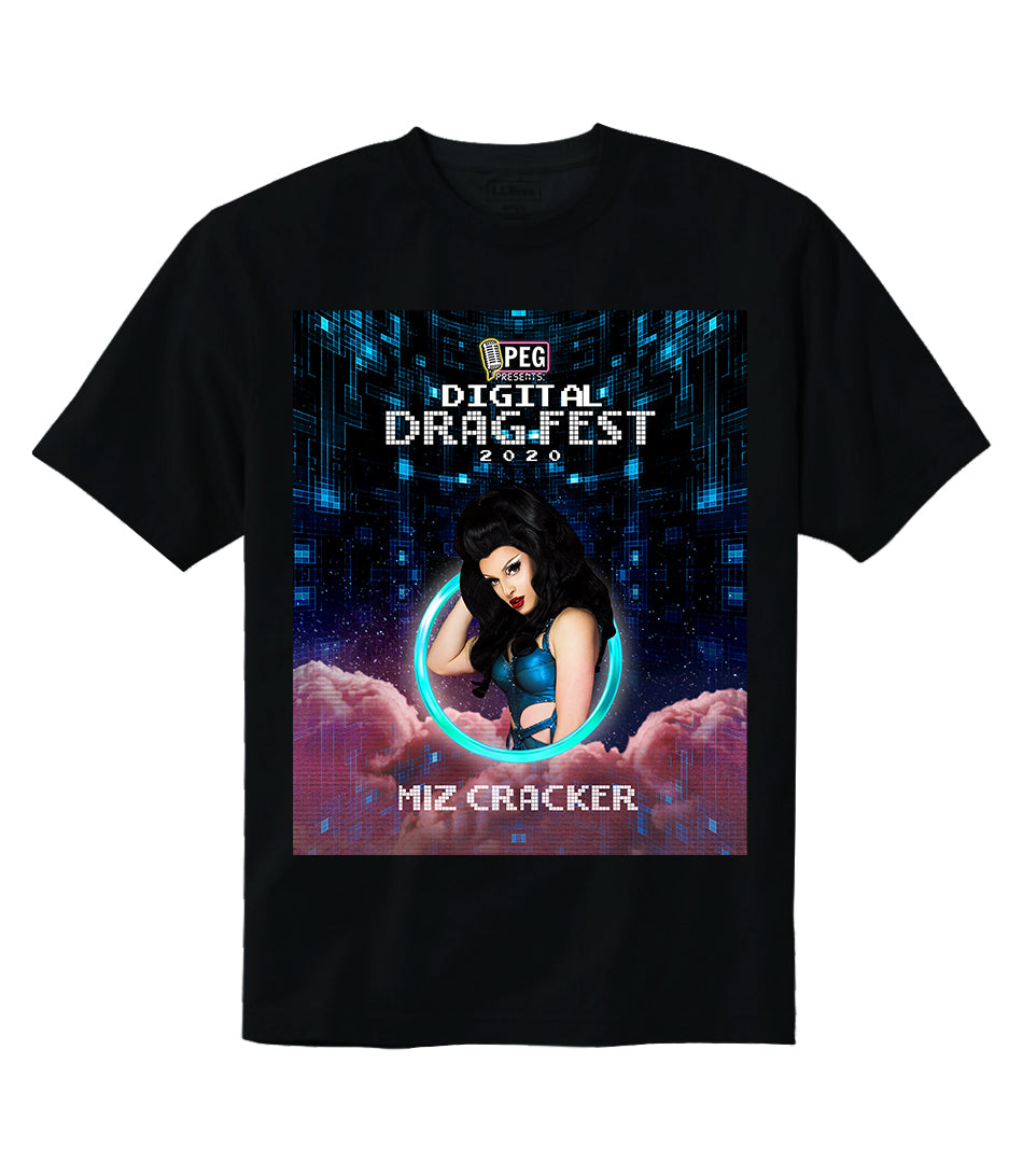Miz Cracker- Digital Drag Fest 2020 T-shirt