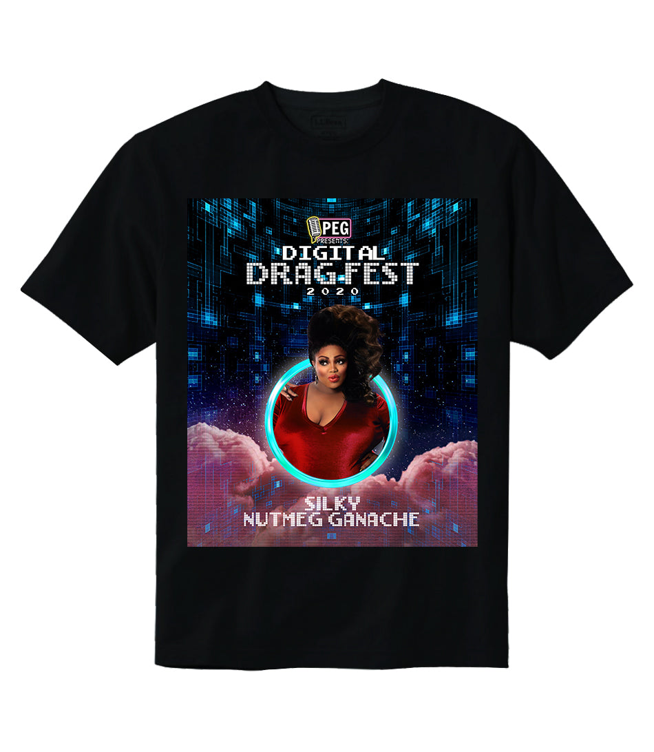 Silky Nutmeg Ganache- Digital Drag Fest 2020 T-shirt