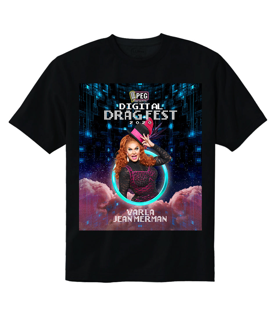 Varla Jean Merman- Digital Drag Fest 2020 T-shirt