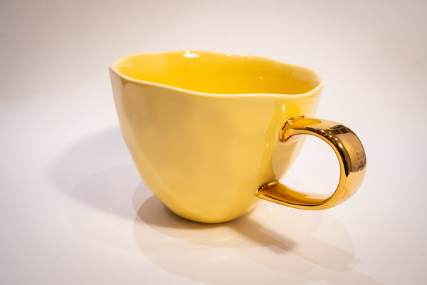 Good morning cup - yellow