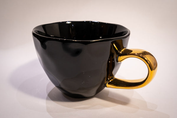 Good morning cup - black
