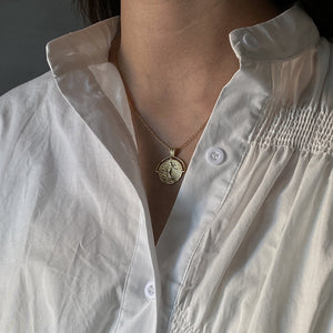 Roman Coin Necklace - Pine Jewellery
