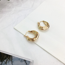 Load image into Gallery viewer, Cienna Hoops - Pine Jewellery