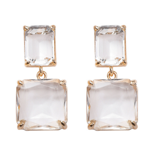 Mirror Mirror On The Wall Earrings - Pine Jewellery