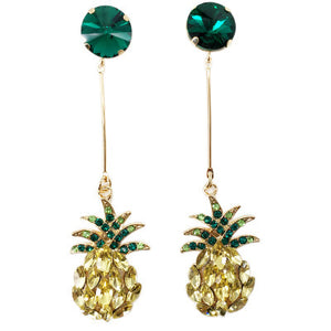 Pineapple Drop Earrings - Pine Jewellery