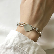 Load image into Gallery viewer, Silver Love Bracelet - Pine Jewellery