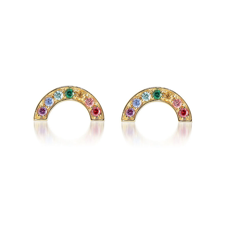 Somewhere Over The Rainbow Earrings - Pine Jewellery