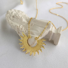 Load image into Gallery viewer, Sun Ray Necklace - Pine Jewellery
