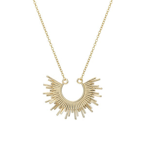 Sun Ray Necklace - Pine Jewellery