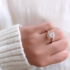 Infinity CZ Ring - Pine Jewellery