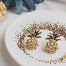Load image into Gallery viewer, Pineapple Stud Earrings - Pine Jewellery