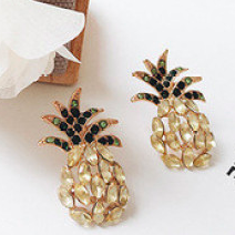 Pineapple Stud Earrings - Pine Jewellery