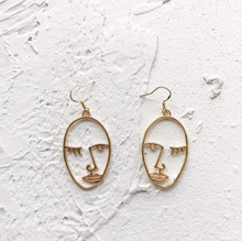 Load image into Gallery viewer, Flirtatious Wink Earrings - Pine Jewellery