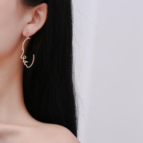 Side Eye Earrings - Pine Jewellery