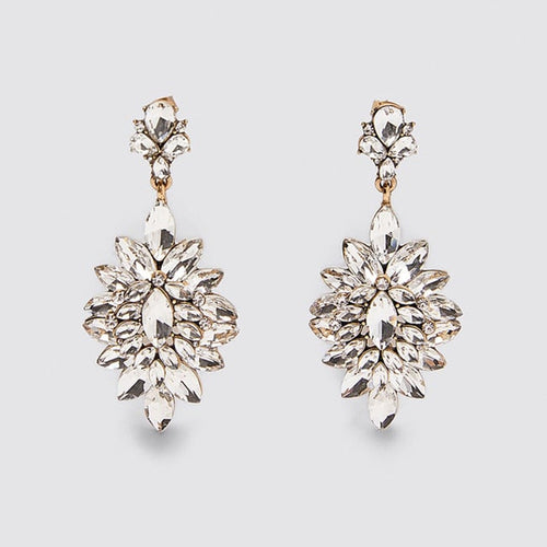 Crystal Bling Earrings - Pine Jewellery