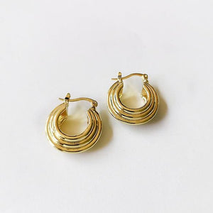 Jupiter Hoops - Pine Jewellery