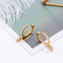 Load image into Gallery viewer, Initial Hoop Earrings - Pine Jewellery