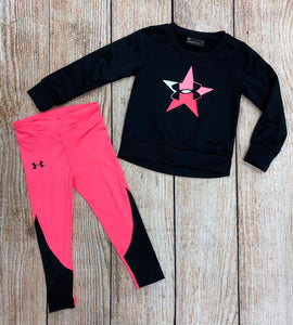 UNDERA SWEATSHIRT SET BLK