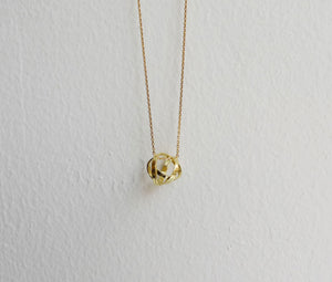 Ball necklace -K18YG
