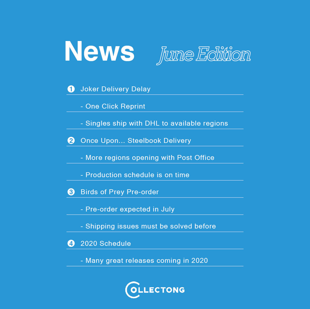 June News from Collectong