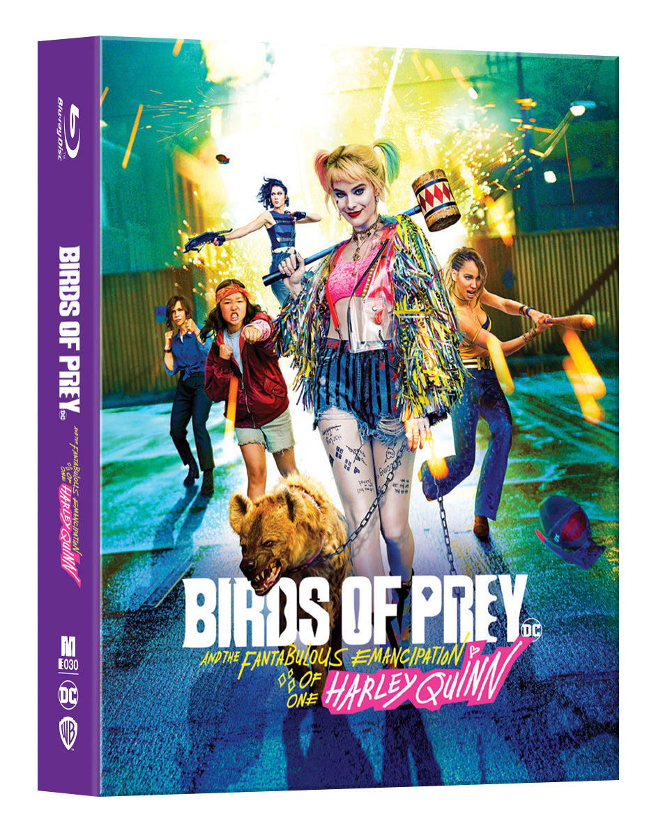 [ME#30] Birds of Prey Steelbook (Double Lenticular Full Slip)