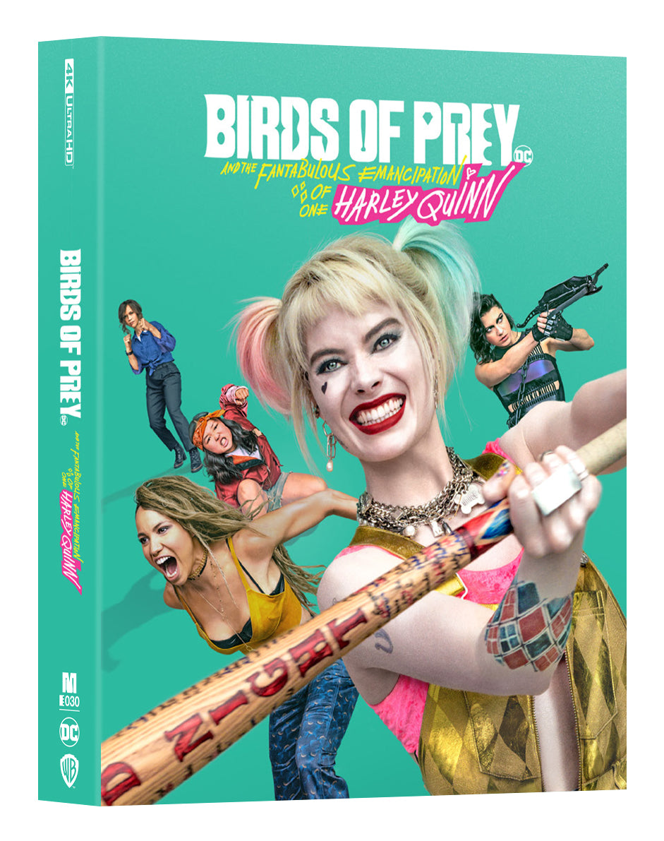 [ME#30] Birds of Prey Steelbook (Full Slip)