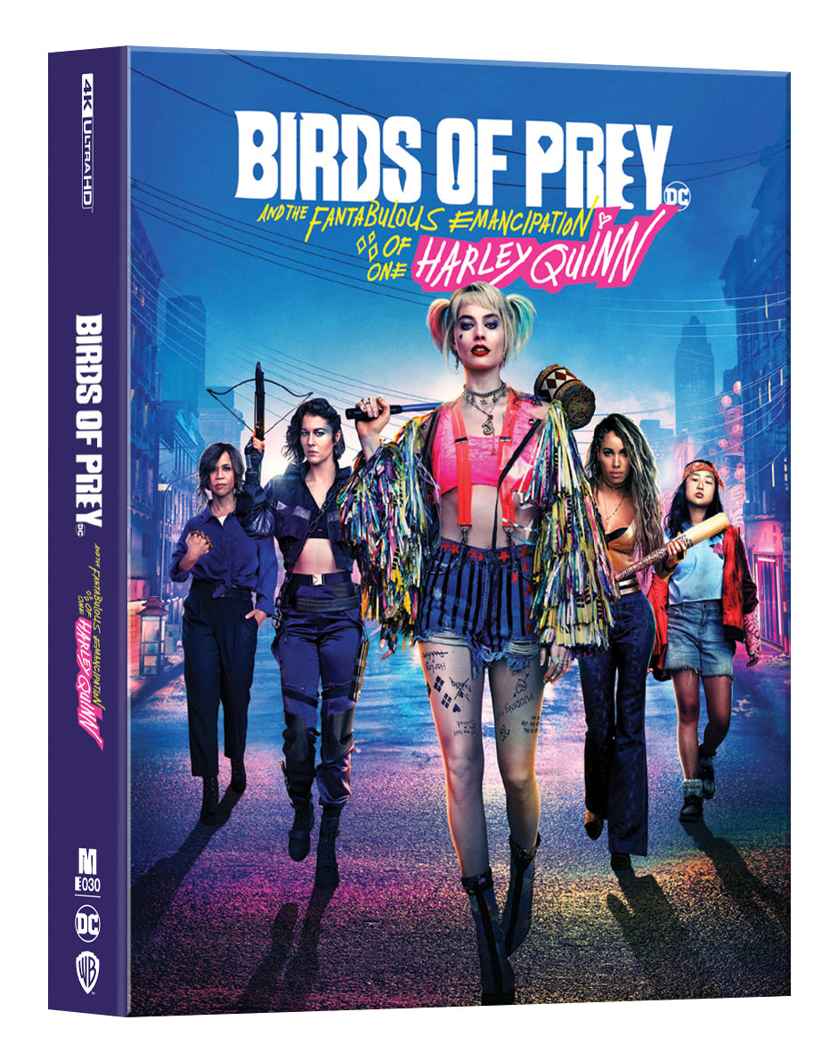 [ME#30] Birds of Prey Steelbook (Lenticular Full Slip)